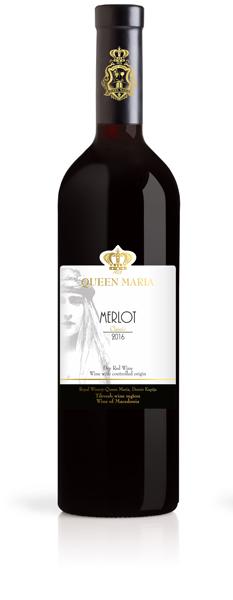 Merlot Sauvignon Classic- Queen Maria Winery Demir Kapija