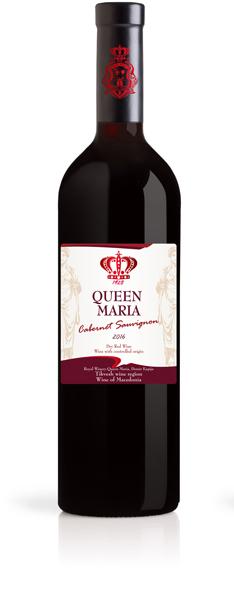 Cabernet Sauvignon Queen Maria Winery Demir Kapija