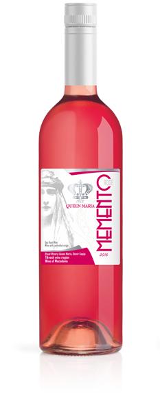 Memento Rose Wine-Queen Maria winery